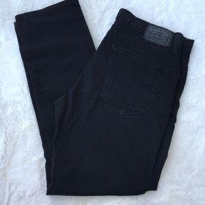 Signature skinny jeans Levi's 36X 32 black VGC